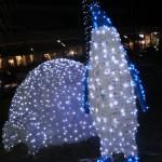 pinguino illuminato