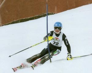Alberto Binetti del SAI Napoli - campione regionale di sci in SL e GS