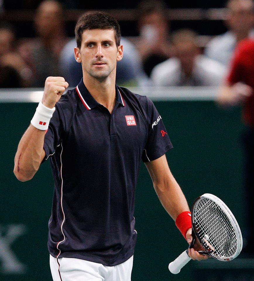 Novak Djokovic primo nella classifica ATP con 13045 punti