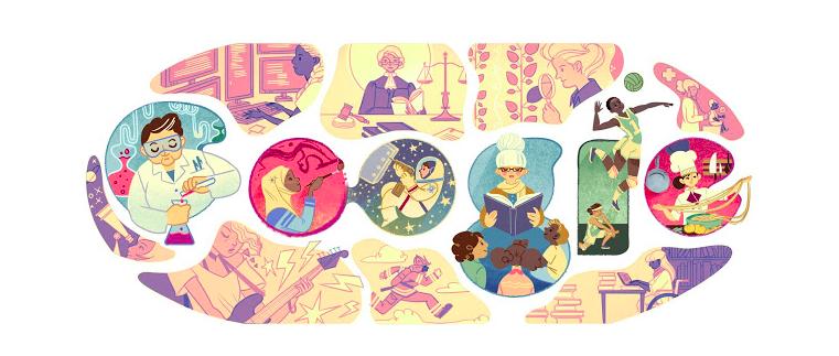 Doodle Google Festa della Donna