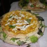 pizza con zucca