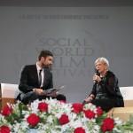 Liliana De Curtis con Yuri Napoli