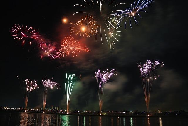 Fuochi d'artificio - Buone Feste