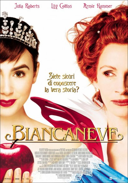 Biancaneve, film con Julia Roberts, Lily Collins e Arnie Hammer
