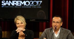Carlo Conti e Maria De Filippi conducono il Festival di Sanremo 2017
