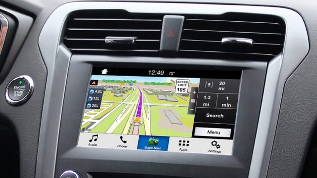 Ford, le app dello smartphone sul touchscreen di bordo