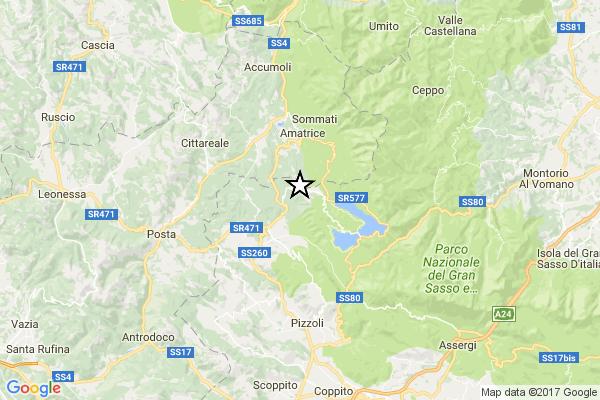 L'Aquila, terremoto oggi 16 gennaio 2017