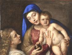 La Madonna con il Bambino e Maria Maddalena, detta Barbarigo