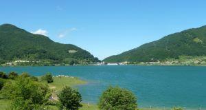 Lago e diga di Campotosto