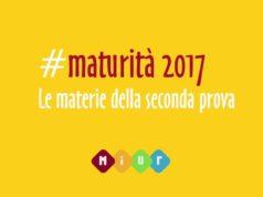 #Maturità 2017 - Le materie della seconda prova