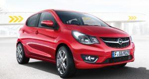 Opel KARL è 5 porte, sicurezza e comfort
