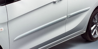 Opel Karl cerchio in lega da 16 pollici, 4 razze doppie