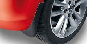 Opel Karl paraspruzzi modellato anteriore