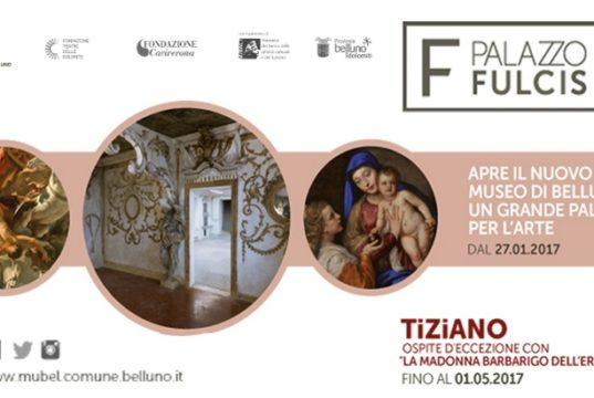 Palazzo Fulcis, nuova sede del Museo Civico di Belluno