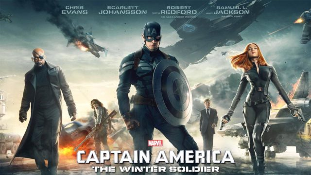 Stasera in tv Captain America The Winter Soldier