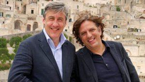 Stasera in tv su Rai storia - I BUONGUSTAI DELL' ARTE Graham Dixon e Giorgio Locatelli