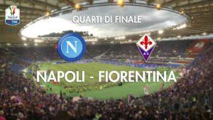 Stasera in tv su Rai1 Napoli - Fiorentina, quarto di finale di Coppa Italia