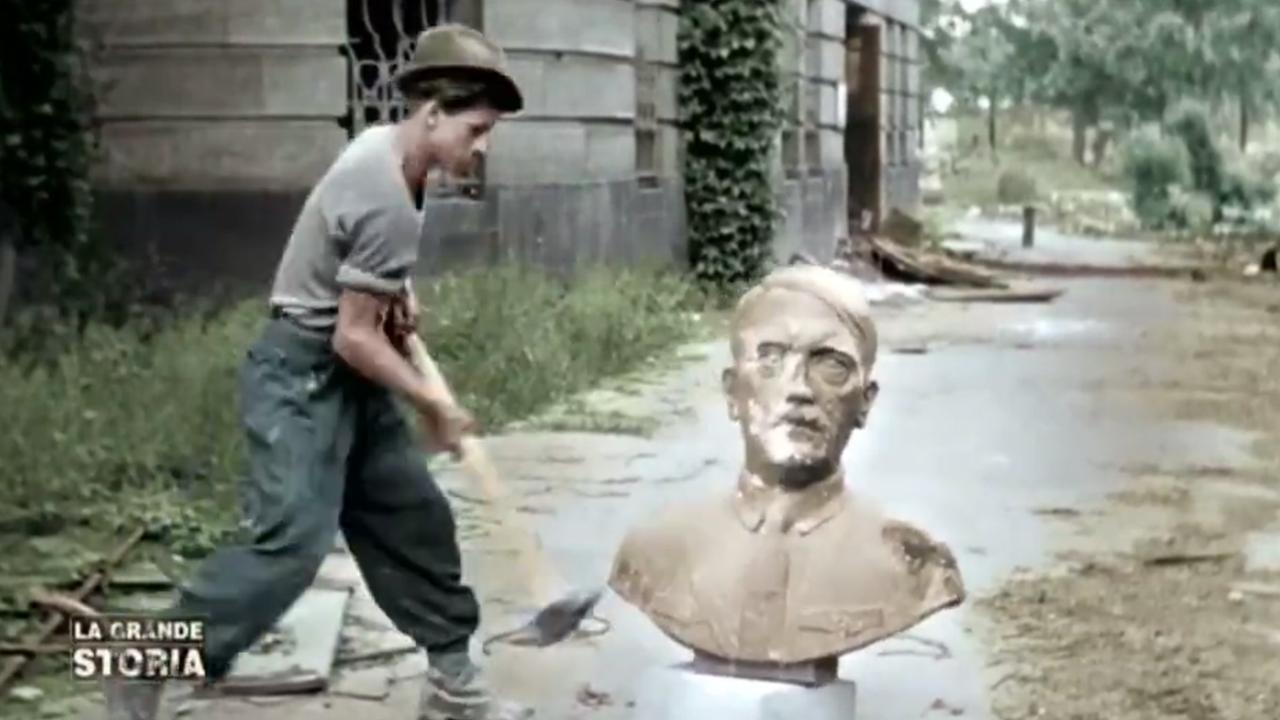 Stasera in tv su Rai3 - 1946. Berlino. La caduta degli dei