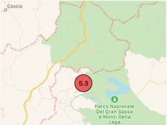 Terremoto oggi 18 gennaio 2017