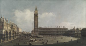 Bernardo Bellotto, Piazza San Marco verso sud-ovest, Venezia