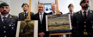 Finanzieri italiani con tele di Van Gogh ritrovate