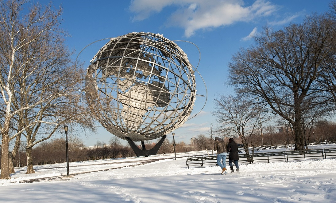 Flushing Meadows Park a New York