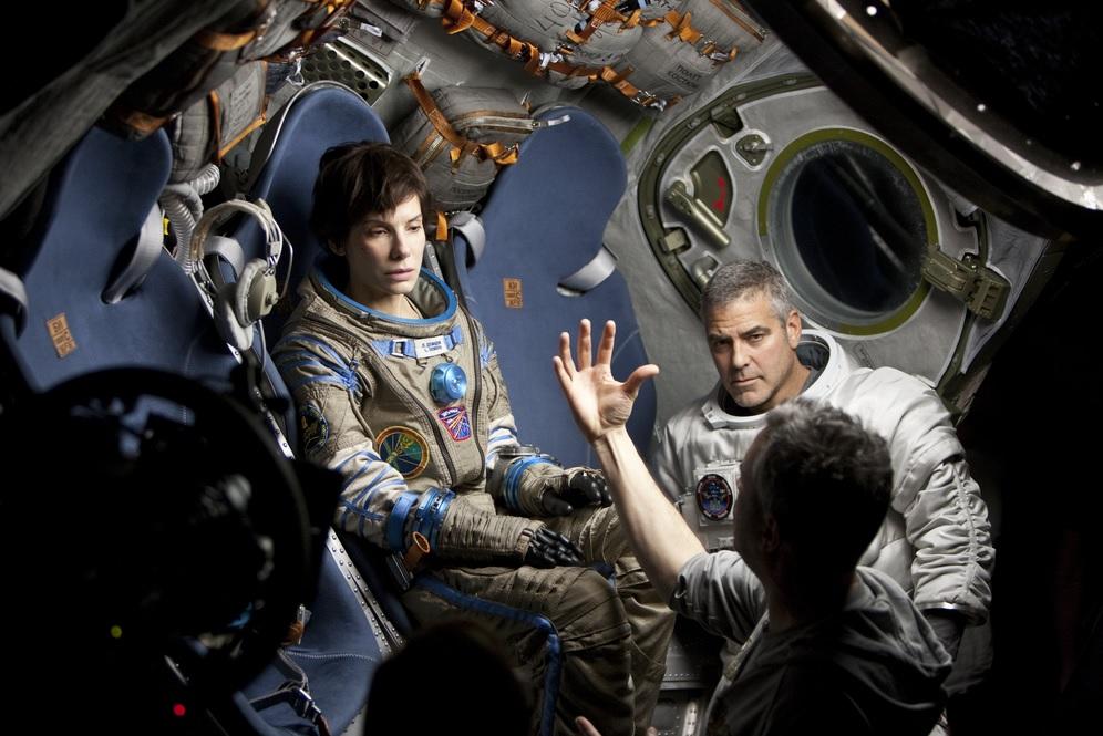 Gravity - Film con Sandra Bullock e George Clooney