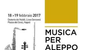 Locandina Musica per Aleppo