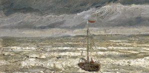 Paesaggio marino a Scheveningen di Van Gogh