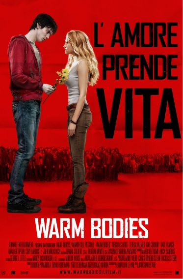 Warm Bodies - L'amore prende vita locandina film
