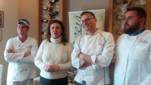 chef con Laura Gambacorta