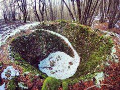 Pozzo della neve sui Monti Aurunci