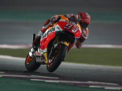 Marc Marquez in sella alla Honda Repsol