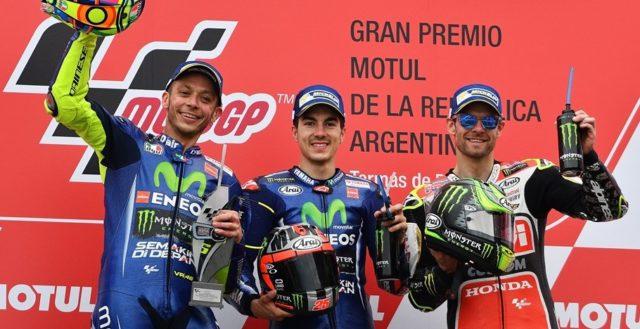 Podio Motogp 2017 GP di Argentina