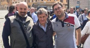 Lopa, Gianni Alemanno e Catapano