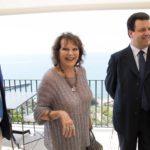 Claudia Cardinale, Giuseppe Alessio Nuzzo e Andrea Buonocore