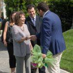 Claudia Cardinale incontra Giuseppe Alessio Nuzzi