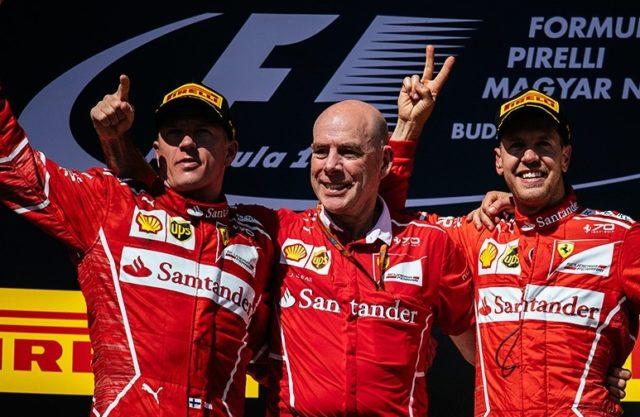 Vettel su Ferrari vince il GP di Ungheria 2017