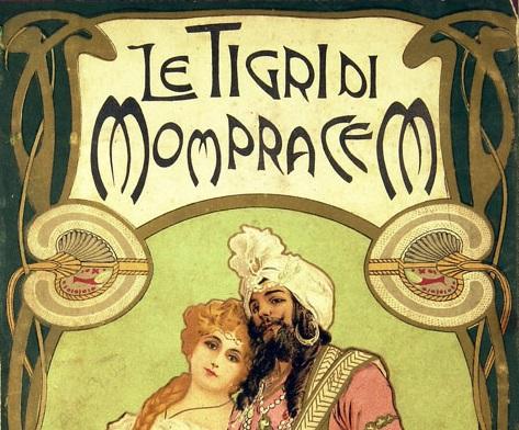 Le Tigri di Mompracem, Emilio Salgari
