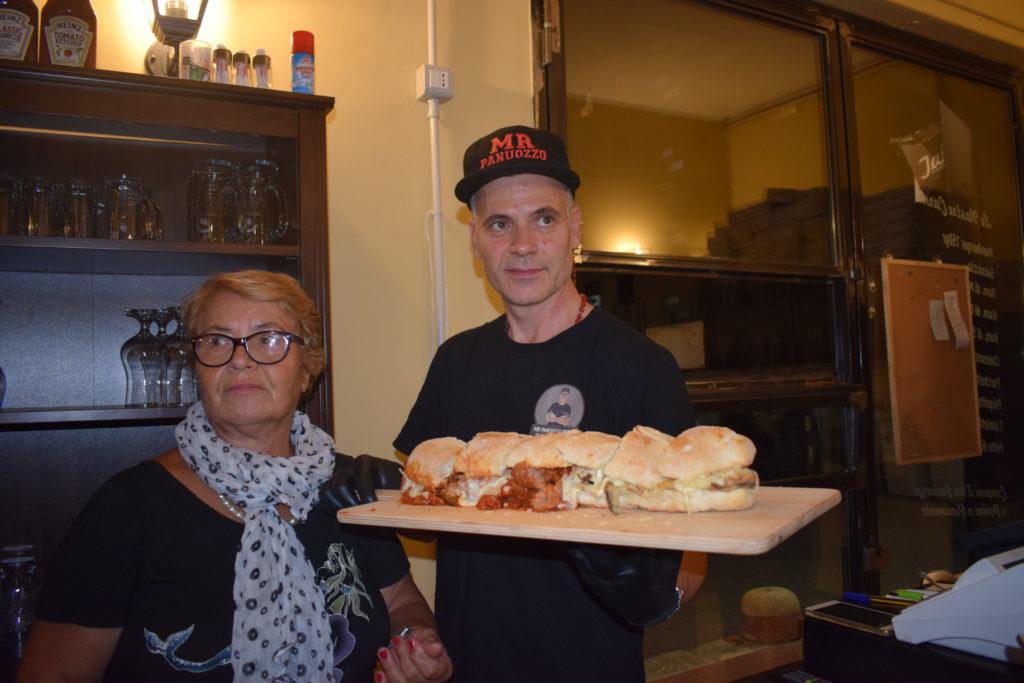 nonna e Salvatore Di Napoli