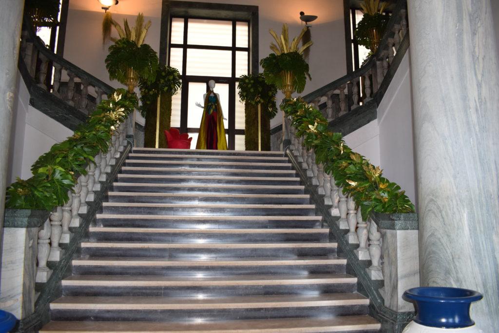Napoli Moda Design scalone Palazzo Dei Congressi