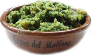 Sagra del Mallone a Bracigliano, tegamino con mallone