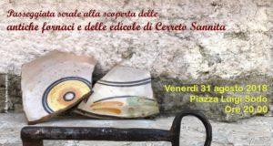 Alla scoperta delle antiche fornaci e delle edicole in ceramica cerretese, a Cerreto Sannita