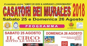Casatori dei Murales 2018 a San Valentino Torio, Salerno