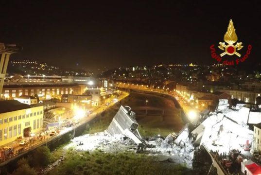 Crollo del ponte Morandi a Genova