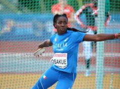 DaisyOsakue, foto FIDAL