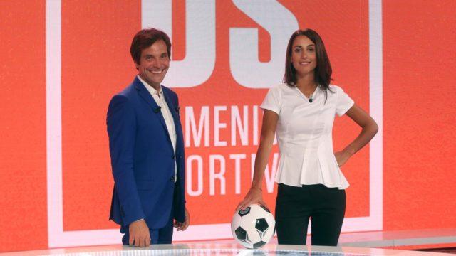 Domenica Sportiva su Rai2, Giorgia Cardinaletti e Marco Lollobrigida