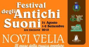 Festival Degli Antichi Suoni 2018 a Novi Velia