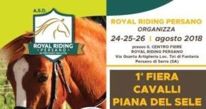 I Fiera Cavalli Piana Del Sele e I Sagra dei Sapori Nostrani a Persano, Salerno