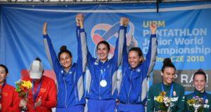 Italia Campione del mondo juniores di Pentathlon Moderno 2018